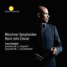 Franz Schubert (1797-1828): Symphonien Nr.4 & 8, CD