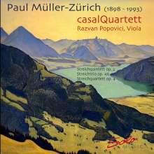 Paul Müller-Zürich (1898-1993): Kammermusik für Streicher, CD