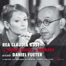 Rea Claudia Kost singt Hanns Eisler & Barbara, 2 CDs