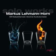 "Markus Lehmann-Horn (geb. 1977): Konzert für Solo-Percussion & Orchester ""Rot...!"", CD"