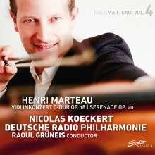 Henri Marteau (1874-1934): Violinkonzert op.18, CD