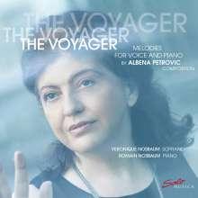 "Albena Petrovic-Vratchanska (geb. 1965): Lieder - ""The Voyager"", CD"