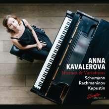 Anna Kavalerova - Themes and Variations, CD