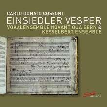 Carlo Donato Cossoni (1623-1700): Einsiedler Vesper, CD