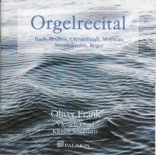 Oliver Frank - Orgelrecital, CD