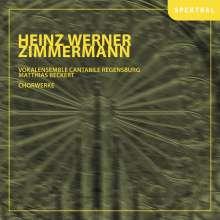 Heinz Werner Zimmermann (geb. 1930): Chorwerke, CD