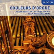 Jan von Hassel - Couleurs d'Orgue, CD