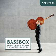 Dominik Greger - Bassbox, CD
