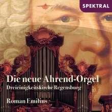 Die neue Ahrend-Orgel der Dreieinigkeitskirche Regensburg, CD