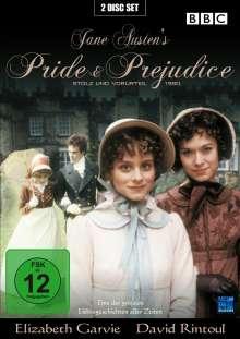 Stolz und Vorurteil - Pride And Prejudice (1980), 2 DVDs