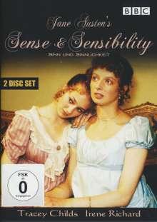 Sinn und Sinnlichkeit - Sense And Sensibility (1981), 2 DVDs