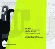 Kurt Weill (1900-1950): Mahagonny (Ein Songspiel 1927), CD