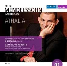 Felix Mendelssohn Bartholdy (1809-1847): Athalie op.74 (Schauspielmusik), CD