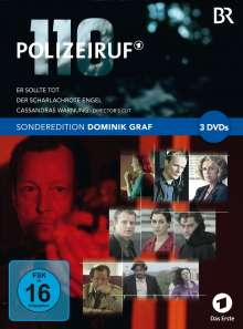 Polizeiruf 110 - Sonderedition Dominik Graf, 3 DVDs