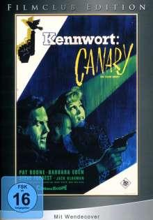 Kennwort: Canary, DVD