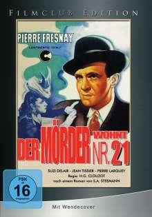Der Mörder wohnt in Nr. 21, DVD