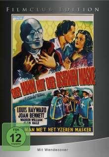 Der Mann mit der eisernen Maske, DVD