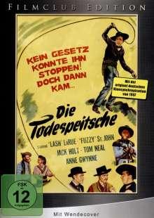 Die Todespeitsche, DVD