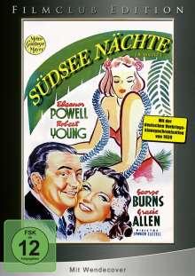 Südsee Nächte, DVD