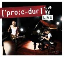 Timm Beckmann: ['pro:c-dur] live, CD