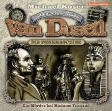 Michael Koser: Professor van Dusen 09: Ein Mörder bei Madame Tusssaud, CD