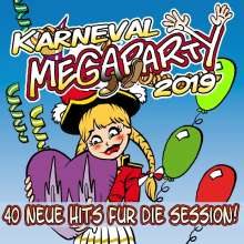 Karneval Megaparty 2019, 2 CDs