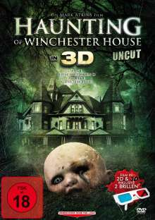 Haunting Of Winchester House 3D, DVD