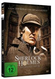 Sherlock Holmes ... seine unheimlichsten Fälle, 2 DVDs
