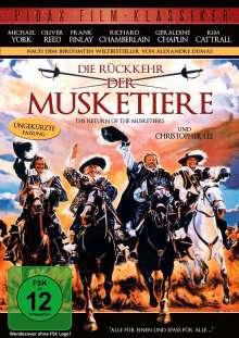 Die Rückkehr der Musketiere, DVD