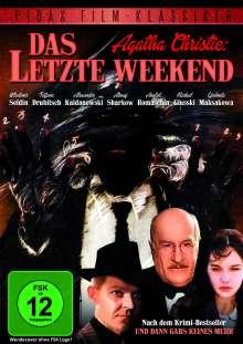 Agatha Christie: Das letzte Weekend, DVD