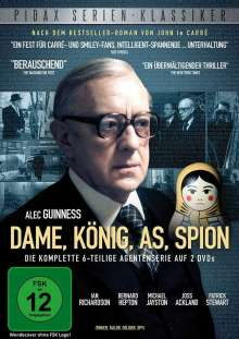 Dame, König, As, Spion (1979), 2 DVDs