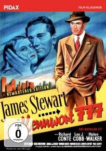 Kennwort 777, DVD