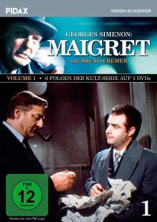 Maigret Vol. 1, 3 DVDs