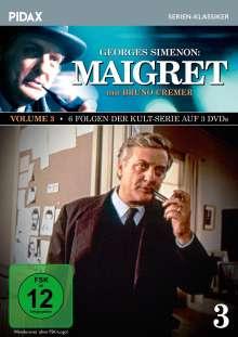 Maigret Vol. 3, 3 DVDs