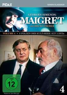 Maigret Vol. 4, 3 DVDs