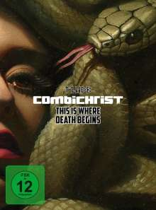 Combichrist: This Is Where Death Begins (Limited Fan-Edition), 3 CDs und 1 DVD
