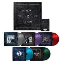 Blutengel: History - The Vinyl Collection Vol. 2 (180g) (Limited-Edition-Box-Set) (Colored Vinyl), 10 LPs