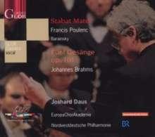 Francis Poulenc (1899-1963): Stabat Mater, CD