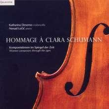 Katharina Deserno - Hommage a Clara Schumann, CD