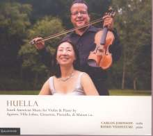 Carlos Johnson & Rieko Yoshizumi - Huella (South American Music for Violine & Piano), CD