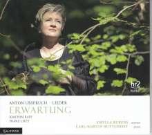 """Anton Urspruch (1850-1907): Lieder """"Erwartung"""", CD"""