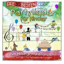 Die 30 besten Partylieder für Kinder, CD