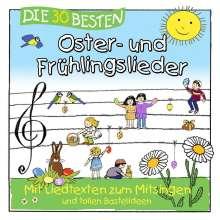 Die 30 Besten Oster-Und Frühlingslieder, CD