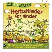 Die 30 besten Herbstlieder für Kinder, CD
