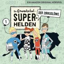 Die Grundschul-Superhelden 01: Der Zirkuslöwe, CD