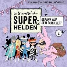 Die Grundschul-Superhelden 02: Gefahr auf dem Schulfest, CD