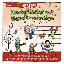 Die 30 besten Kinderlieder mit Klassikmelodien, CD