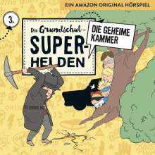 Die Grundschul-Superhelden 03: Die geheime Kammer, CD