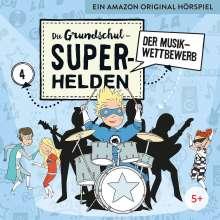 Die Grundschul-Superhelden 04: Der Musikwettbewerb, CD