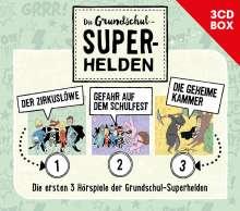 Die Grundschul-Superhelden 3-CD-Box Vol. 1, 3 CDs